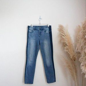 Level 99 distressed skinny jeans